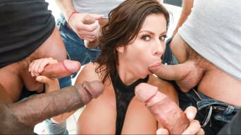 Alexis Fawx in 'Alexis Fawx's 1st Gangbang'