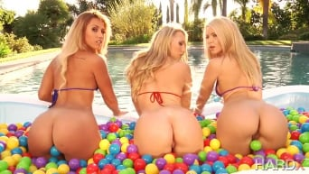 Anikka Albrite in 'Booty Trifecta'